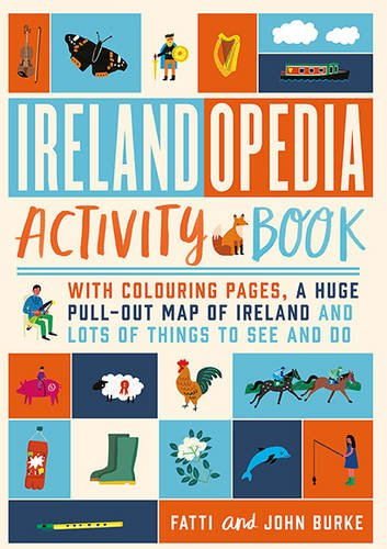 Irelandopedia I Top 20 Activity Books for Children I Dublin Family Programme I What to do with kids in Dublin I Discover Dublin's Playful Side