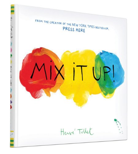 Mix it Up Herve Tullet I Top 20 Activity Books for Children I Dublin Family Programme I What to do with kids in Dublin I Discover Dublin's Playful Side