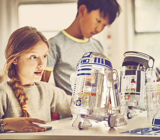 Star Wars Droid Inventor Kit Homepage